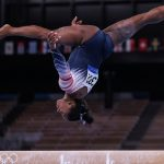 In Pictures: Back on the beam for event final, Simone Biles wins bronze medal