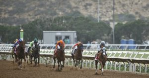 Express Train ready to rumble in at Pacific Classic