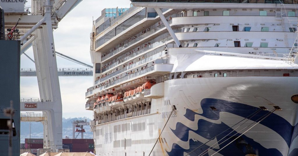 Grand Princess to set sail from L.A., first time since COVID