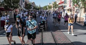 Wait times at Disneyland and Universal Studios are way down