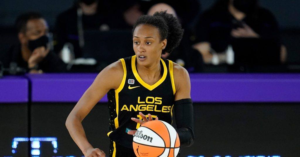 Sparks guard Brittney Sykes named WNBA first-team all-defense