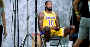 Who will be Lakers center and how will they adapt to roles? Easy, DeAndre Jordan says